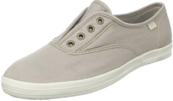 4aba19db89 shoes keds shoes women laceless slip on slip on shoes slip-on sneakers  neutral beach