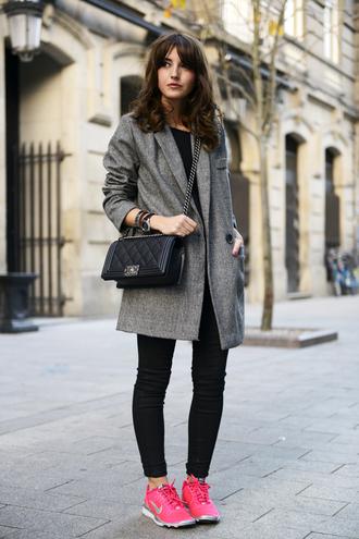 lovely pepa coat jeans shoes bag jewels