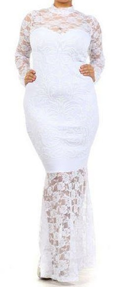 dress lace dress plus size dress plus size lace gown plus size gown plus size cocktail dress plus size wedding gown formal dress
