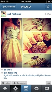 dress,gold,Night Moves,sparkle,girl