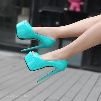 shoes heels high heels stilettos turquoise turquoise high heels turquoise shoes turquoise heels turquoise high heel shoes open toes open toe high heels open toe heels platform shoes platform high heels platform heels blue blue heels blue shoes blue high heels