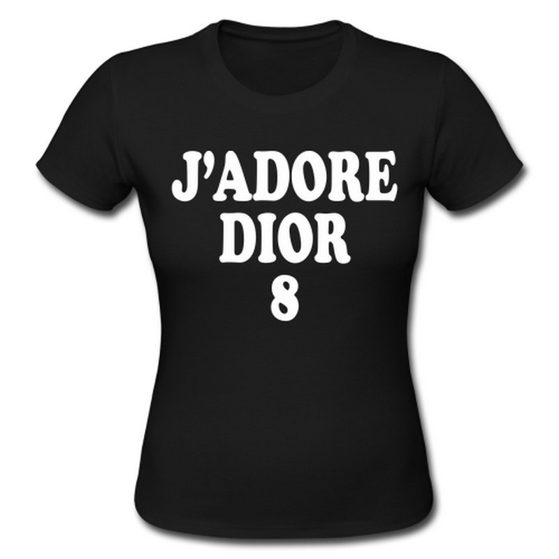 J'adore dior graphic tee