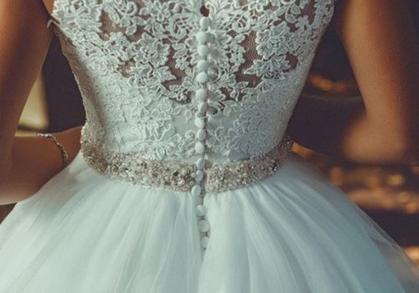 dress gown gown lace wedding dress princess wedding dresses weddng dress white dress lace dress lace back