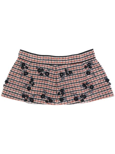 No21 women belt wool red
