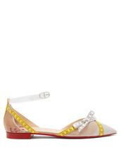 embellished,flats,beige,shoes