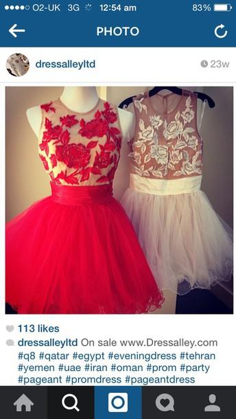dress nude red dress short dress