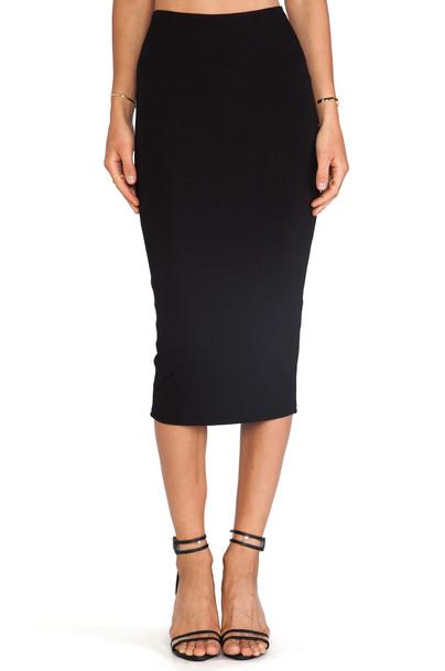Michael Stars skirt pencil skirt black