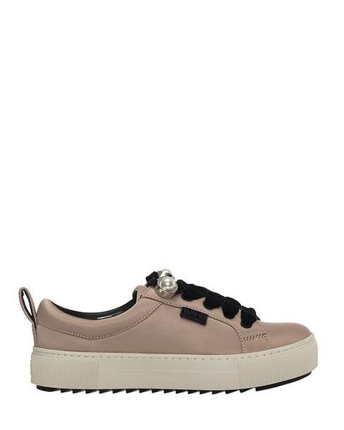 karl lagerfeld sneakers pink satin shoes