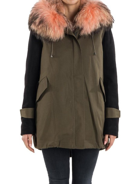FORTE COUTURE parka green coat