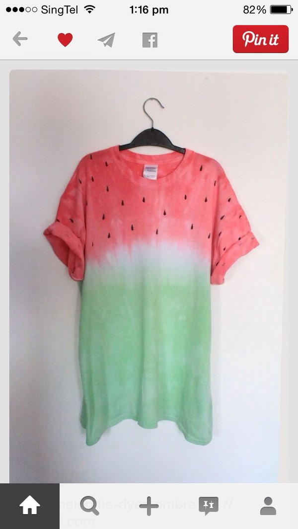 t-shirt watermelon shirt