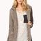 Longline drawstring utility jacket | love21 - 2020842708