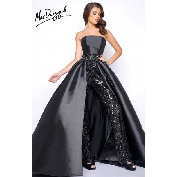 dress, mac duggal prom dresses, romper, prom dress, black dress ...