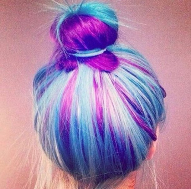 Excellent  Hair On Pinterest  Pastel Hair Tips Blonde And Blue Hair And Pink
