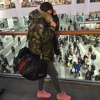 jacket camouflage coat