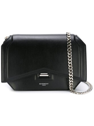 bow mini bag crossbody bag black