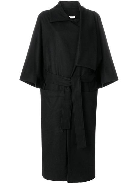 Henrik Vibskov coat women black wool