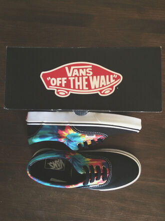 shoes vans black indie hippie girl rainbow psychedelic skater tie dye colourful vans vans of the wall tumblr tumblr girl tumblr shoes cool cool teens tie dye tie and tye of the wall mark fancy nice hipster alternative grunge yellow orange printed vans
