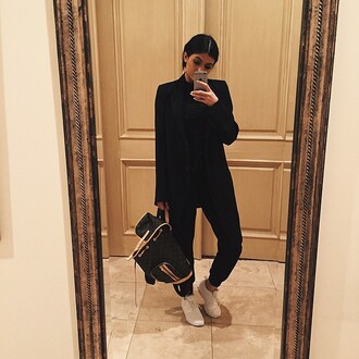 bag backpack kylie jenner sneakers jacket pants