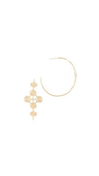 Elizabeth and James earrings hoop earrings gold jewels