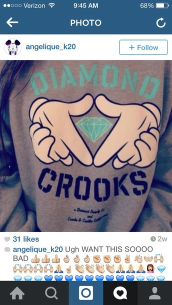 shirt diamond supply co.
