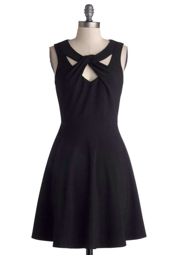 dress little black dress cut-out dress skater dress formal black dress