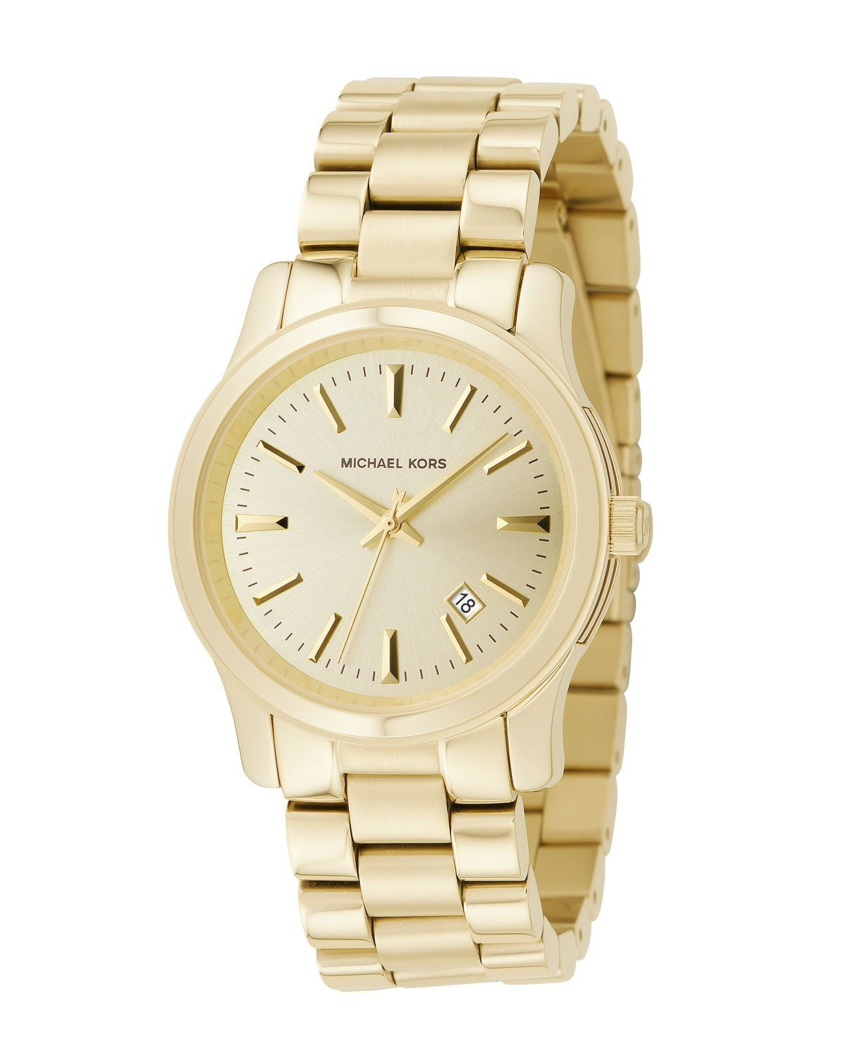 Amazon.com: Michael Kors Women's MK5160 3 Hand Runway Watch: Michael Kors: Watches