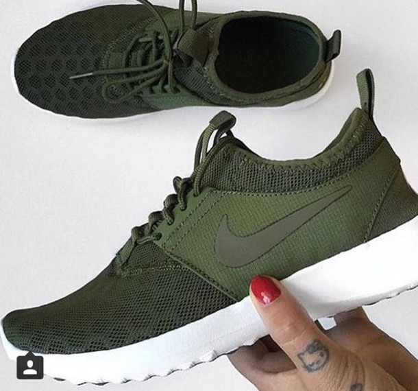 new products 5f2b8 b3e7c nike roshe khaki green
