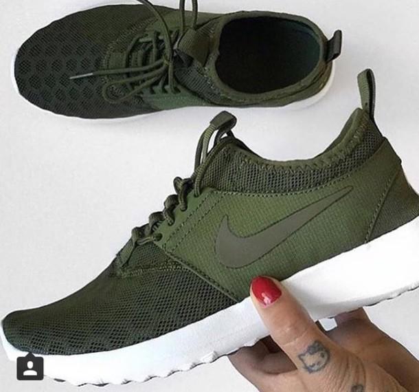a9b9b68d4c Nike Roshe Running Iguana Olive Black White NRG Men Shoe Run Size 10.5. nike  roshe ...