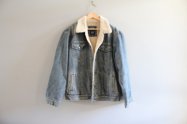 Jacket Denim Jacket Unisex Denim Jacket Vintage Denim Jacket
