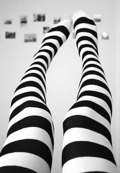 black scene scene queen edgy edgy style white cute pants stripes tights cute tights
