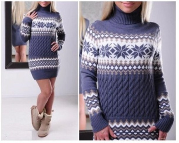 dress girl cute girly girly wishlist knitwear knit sweater sweater dress christmas christmas sweater turtleneck turtleneck sweater