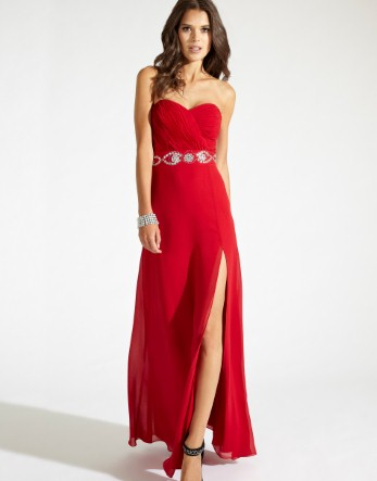 Buy Lipsy VIP Embellished Waist Prom Dress from the Next UK online ...