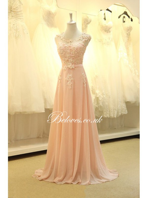 beaded long dress cap sleeves prom dresses dress