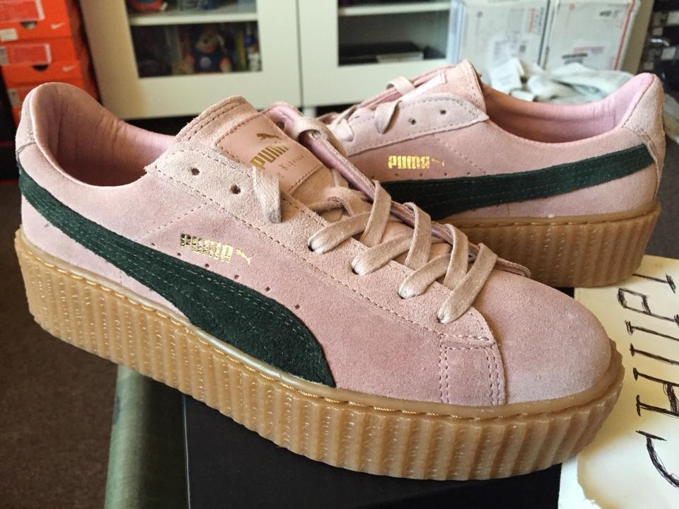 Fenty Puma Creepers Rose