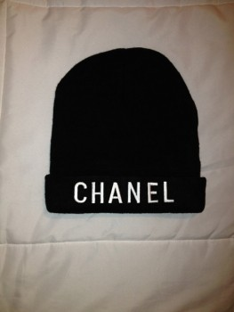 Etsy Chanel Beanie