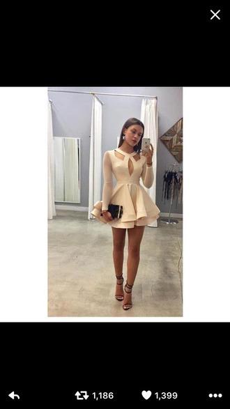 dress cream dress thisdress