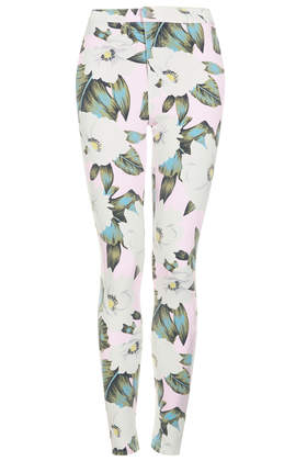 MOTO Aloha Print Joni Jeans - New In This Week - New In - Topshop