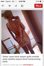 glitter,sequins,open back,homecoming,cocktail,drape