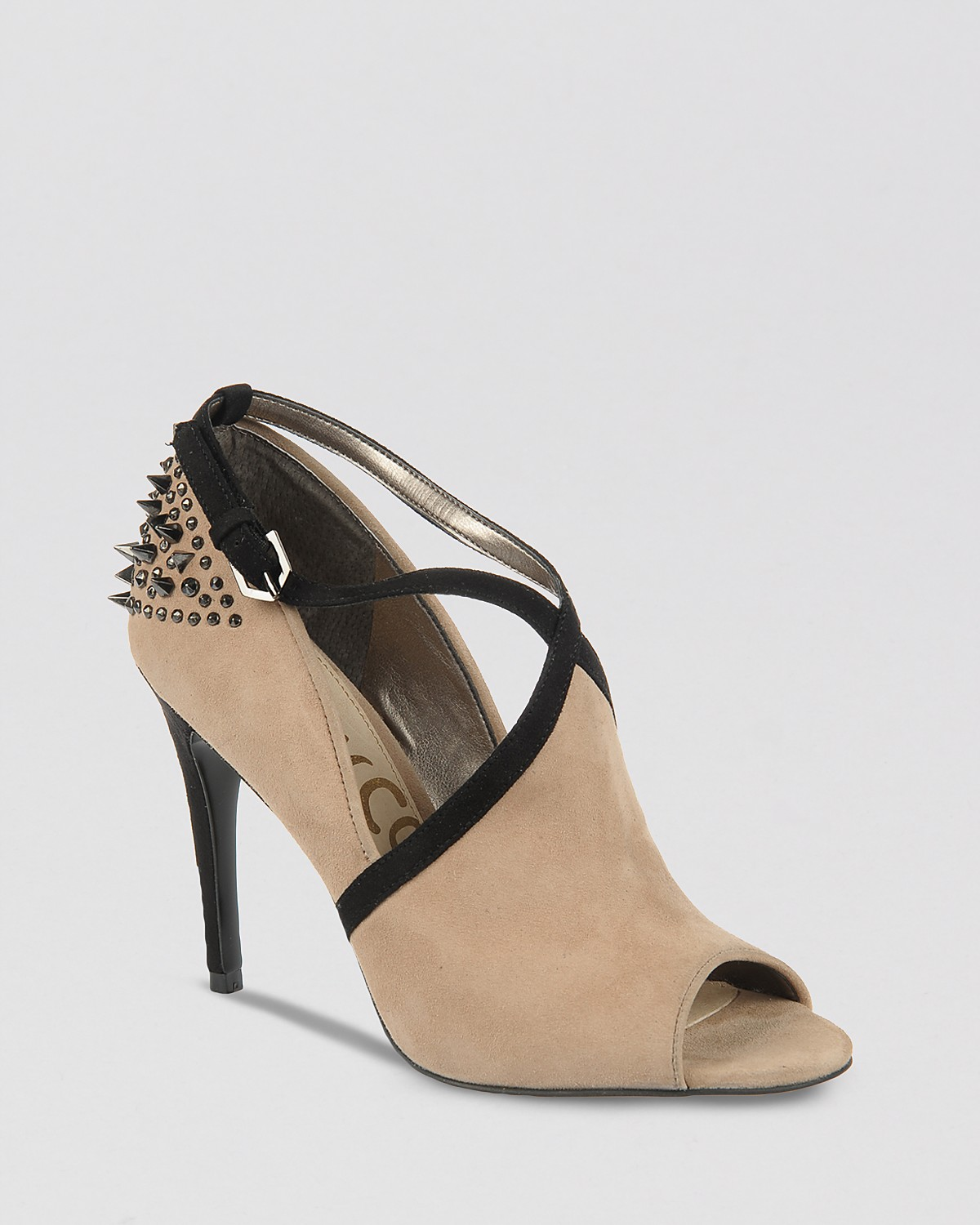 Sam Edelman Peep Toe Booties - Adrienne High Heel | Bloomingdale's