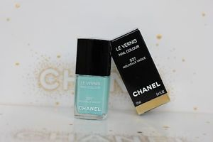 Chanel le nouvelle vague 527 nail polish turquoise bnib new