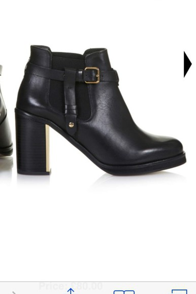 shoes boots black boots ankle boots chelsea boots