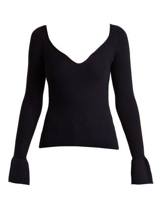sweater wool sweater wool navy