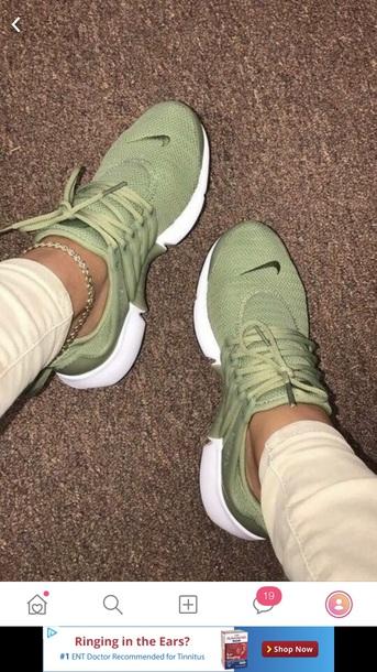 shoes nike green