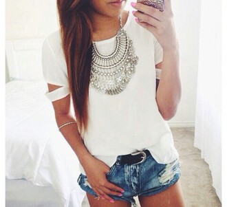 t-shirt jewels jewelry boho