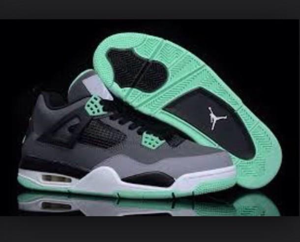 shoes mint grey