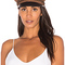 Brixton kayla cap in brown and black from revolve.com