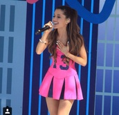 dress,ariana grande,pink dress,13