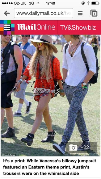 dress vanessa hudgens hat