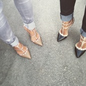 Dusty Junk,valentino shoes studded,designer shoes,valentino rockstud heels,Rockstud Heels,rockstuds,sexy,studded,studded shoes,2015 fashion trends,prom shoes,purple prom shoes,prom high heells,high quality wedding shoes,black shoes,nude heels,nude high heels,shoes,Valentino