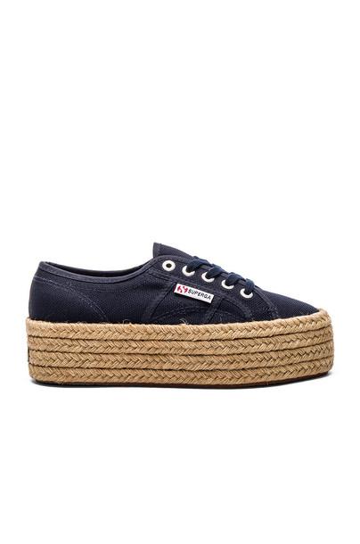 Superga 2790 Cotro Sneaker in navy